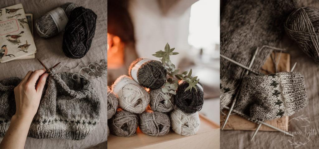 Islantilainen villapaita